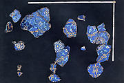 A Group of Mosaic Tilework Fragments